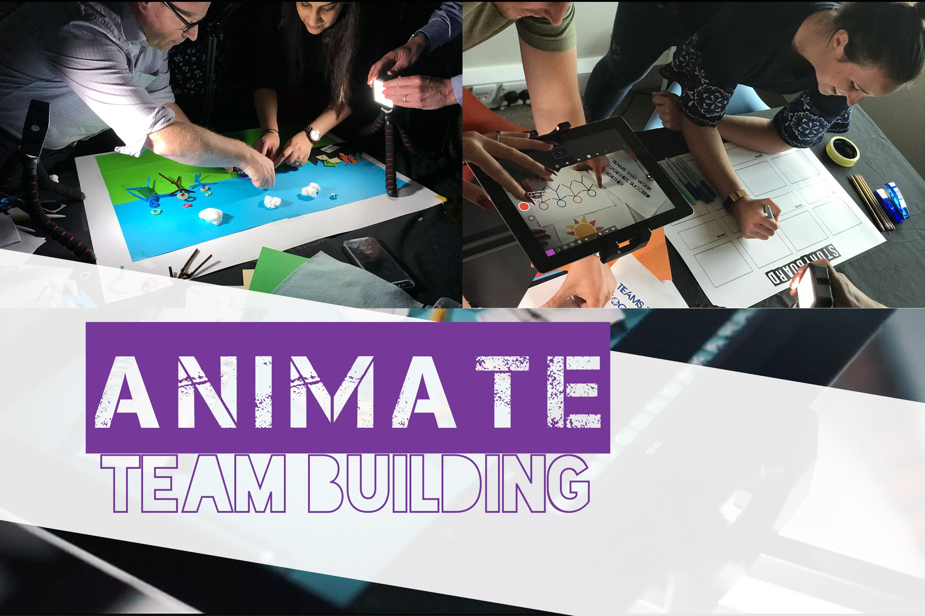 Enjoy some creative team building activities with your