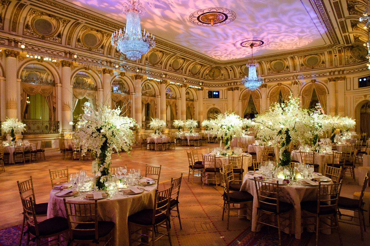 Plaza Hotel Wedding in 2019 Corporate event design