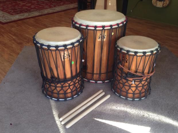 Drum Brothers American Made Dun Dun Set | Worlds of Music USA | Reverb |  Drums, Percussion instruments, American made