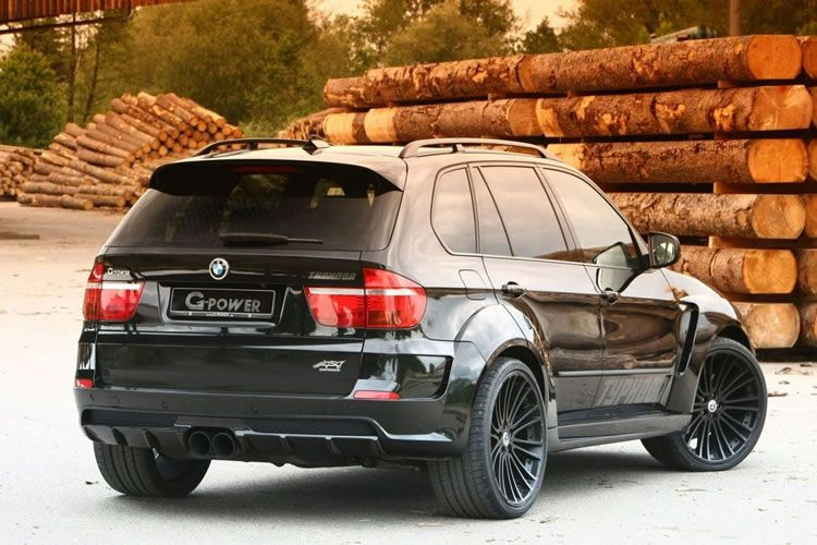 Custom Bmw X5 Typhoon Black Pearl By G Power Shared Via Slingpic With Images Bmw X5