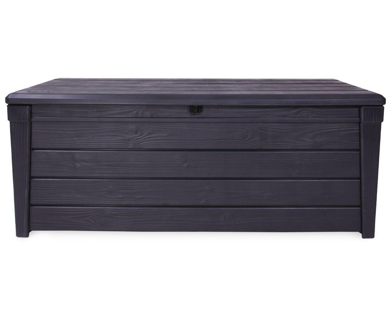 Gartenbank Mit Stauraum Wasserdicht Ohne Ruckenlehne Sitztruhe Auflagenbox Aufbewahrungsbox