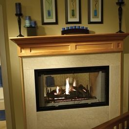 Traditional See Through Fireplaces Google Search Ideer