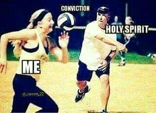 f69979fe27ba67f79422369e66db079f conviction holy spirit 25 funny meme's 2017 pinterest holy