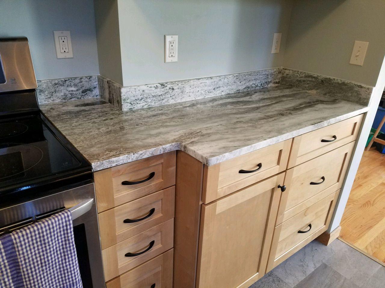 Best Brown Fantasy Granite Counter Top Waypoint Cabinets In 400 x 300