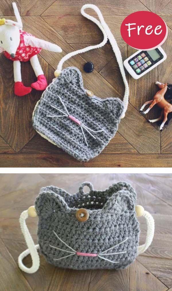 Crochet mignon sac de lapin modèle gratuit   – Häkeln