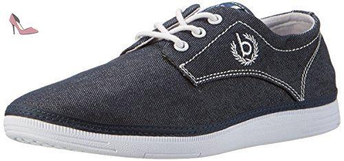 K420636, Sneakers Basses Homme, Bleu (Navy 423), 41 EUBugatti