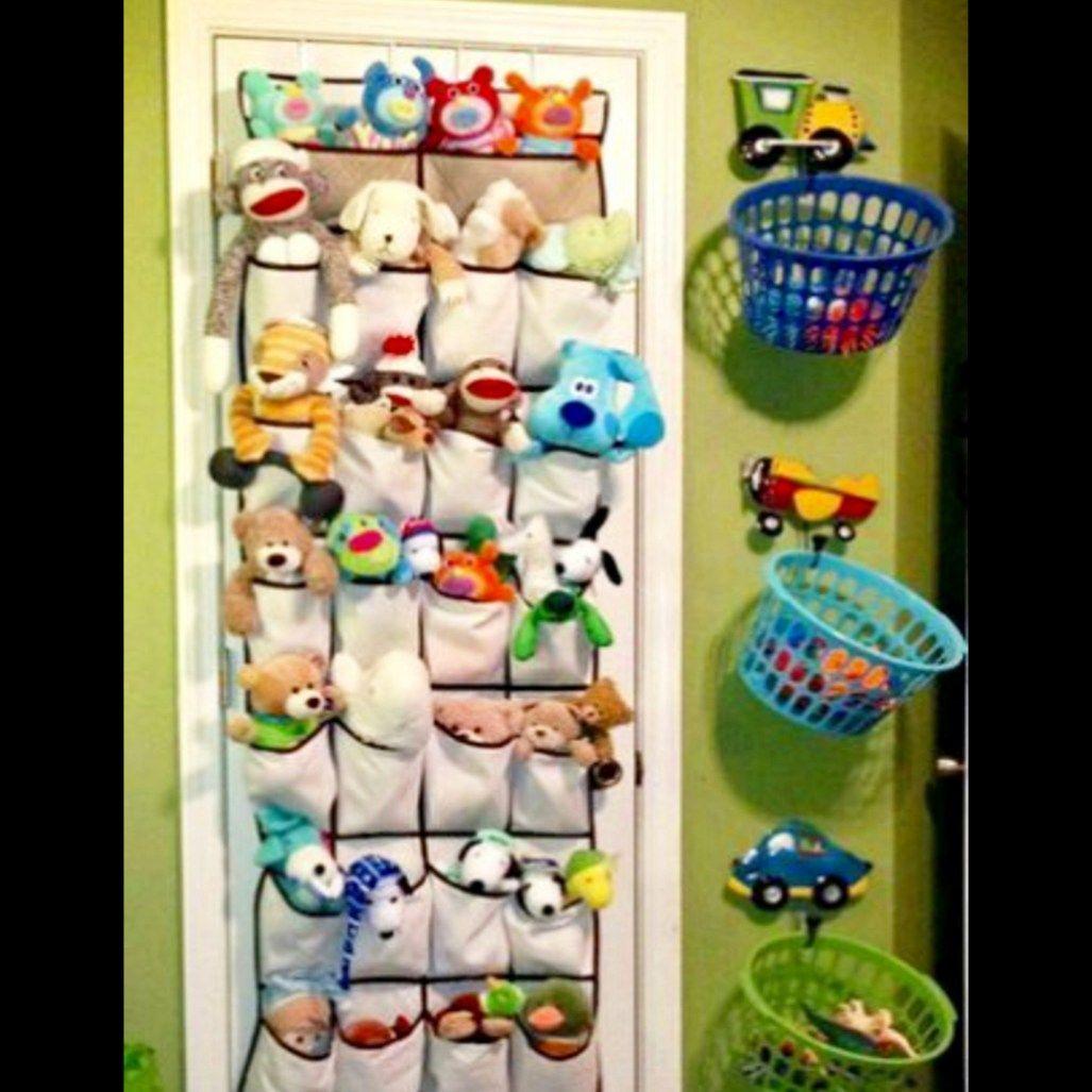 Storage Hacks How To Organize A Small House With No Storage Space Kids Toy Organization Baby Room Design Boy Closet Hacks Organizing