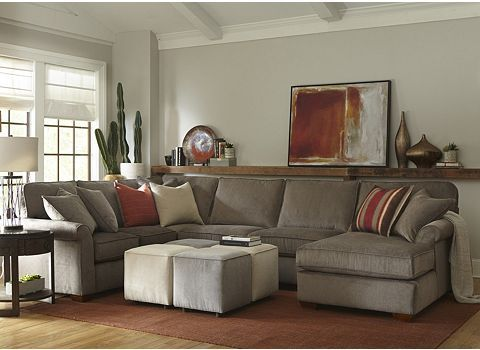 Alternate Norfolk Sectional Image  Our Home  Pinterest  Norfolk Classy Living Room With Sectional Review