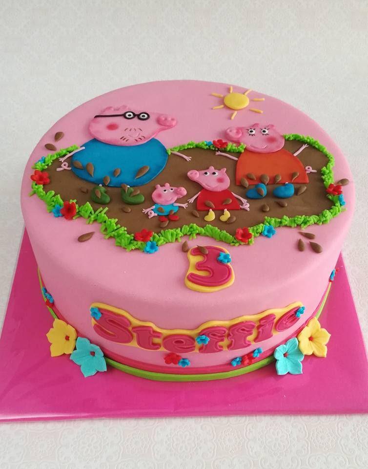 Peppa Pig Cake Peppa Pig Cake Cake Eat Cake