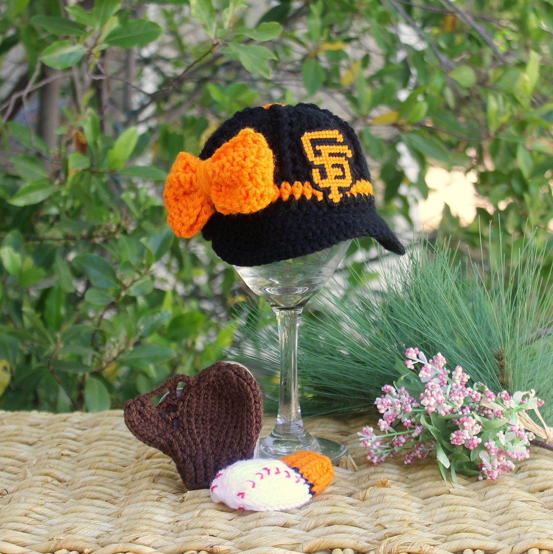 45c0e726 San Francisco Giants Baby Girl, SF Giants Baby Girl Hat, Baby ...
