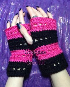 The nikki wristers fingerless gloves goddess crochet crochet free crochet pattern for the nikki wristers fingerless gloves by goddess crochet dt1010fo