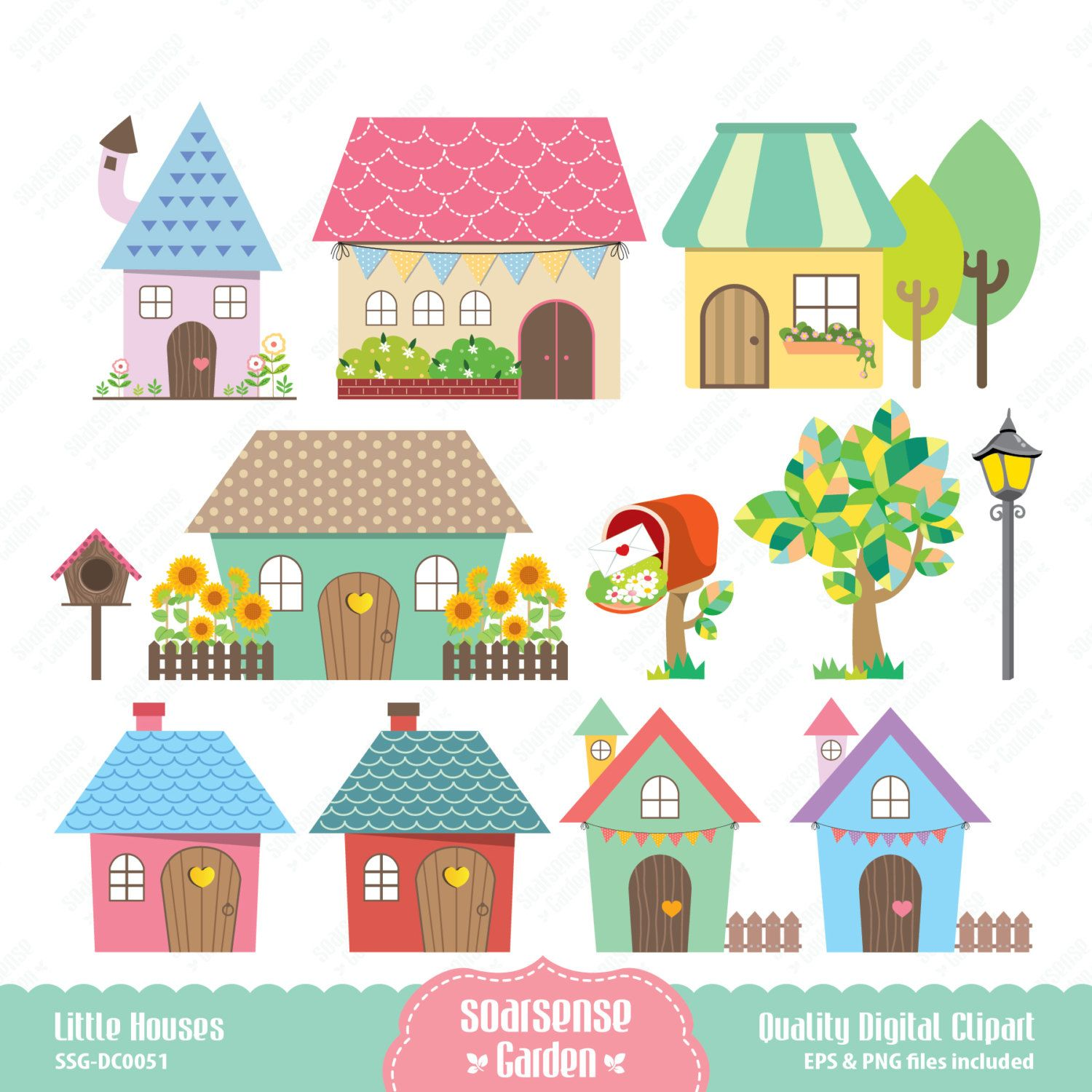 Free download Cute Home Clipart for your creation ...