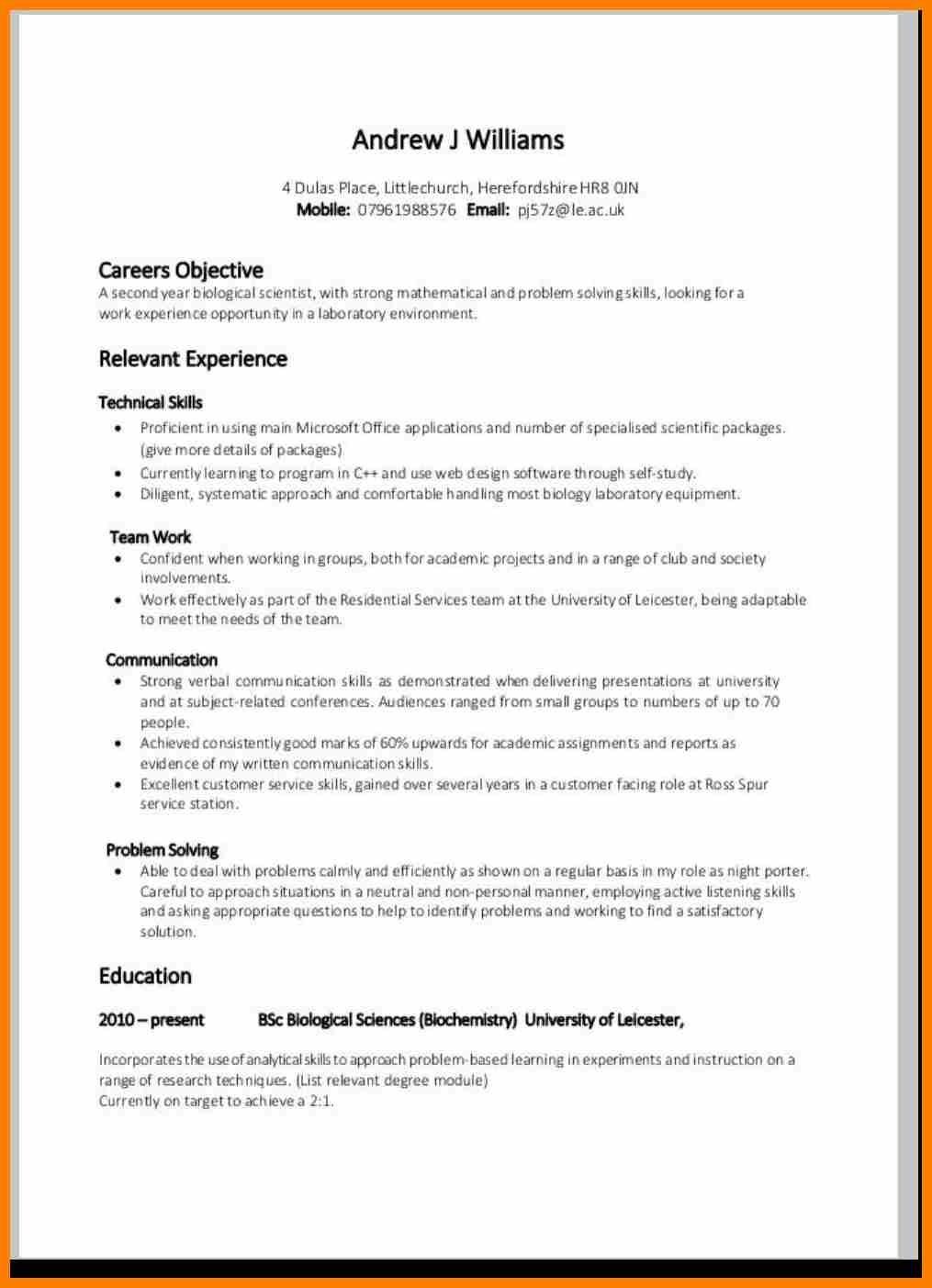 Cv Template For Over 60 Resume Format Resume Examples Resume Skills Resume Format