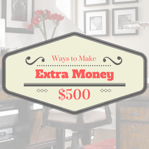 Earn An Extra $500 Quickly With Side Hustles Like