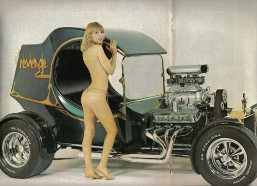 rat rod women nude