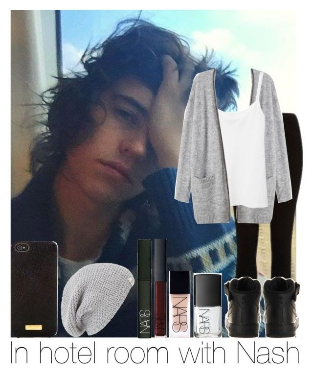 """""""In Hotel Room With Nash"""" by hazzgirl03 ❤ liked on Polyvore featuring beauty, NIKE, Henri Bendel, UGG Australia and NARS Cosmetics"""