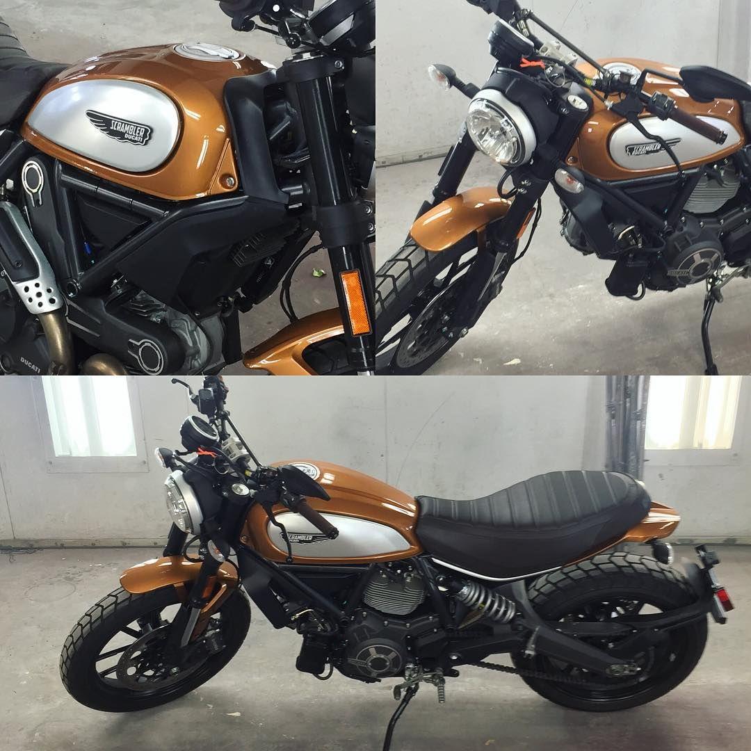 New Paint Metallic Bronze Scrambler Motorcycle Ideas Ducati Metallic Bronze
