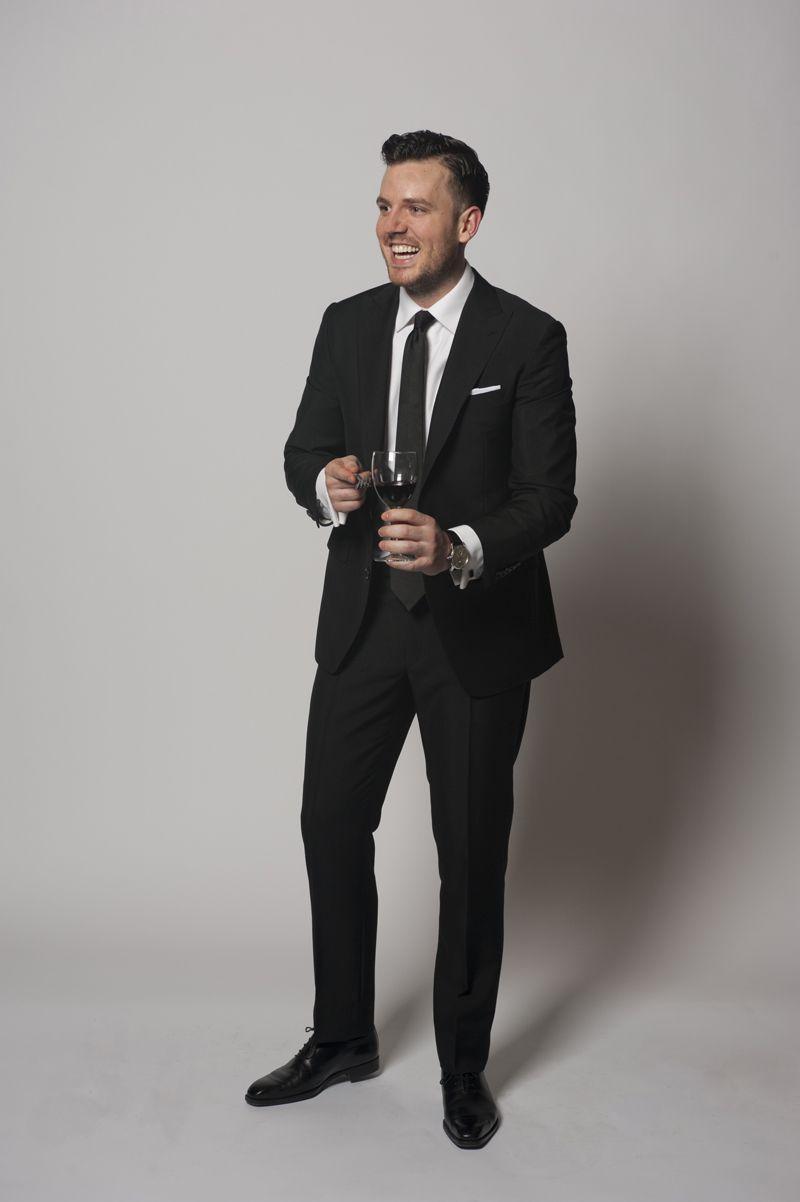 Dark Gray Suits Wedding Ultra classic black suit | CHESTI DE ...