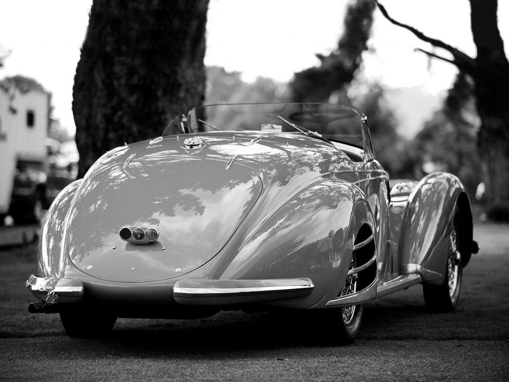 1938  Alfa  Romeo 8c 2900b Spider  Streamlined