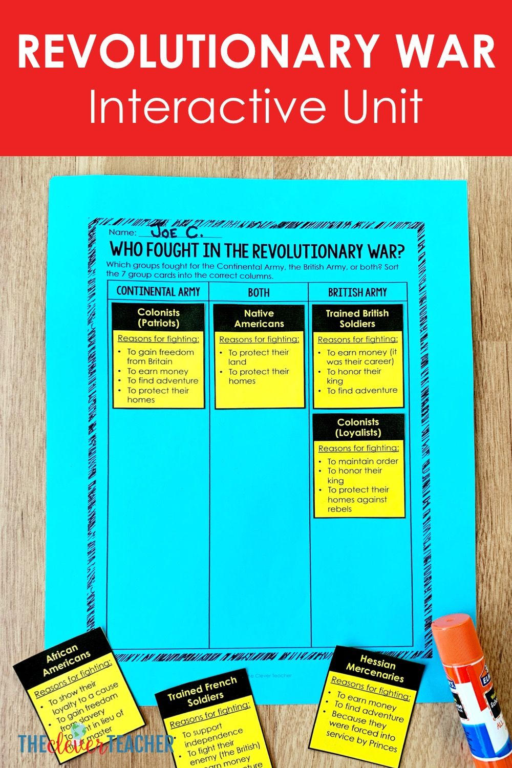 Photo of Revolutionary War Lesson Plans for 5th Grade and Middle School