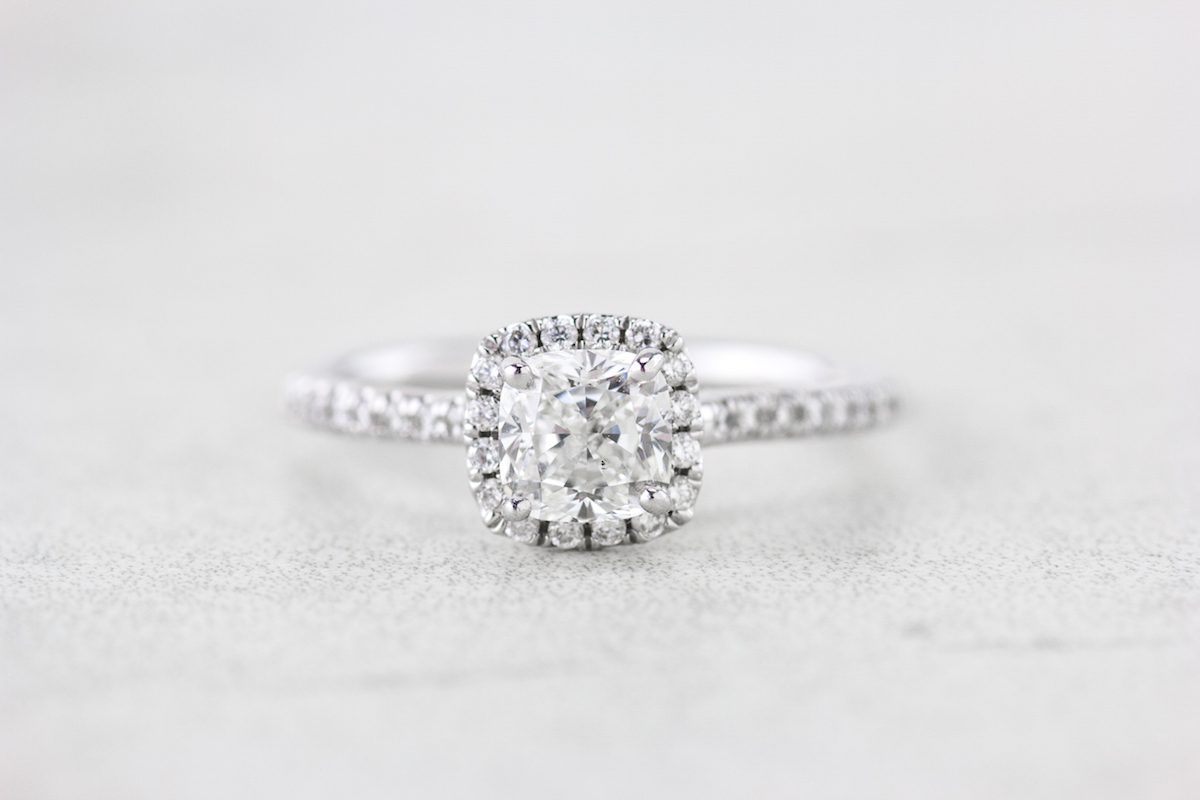 Heres How Amazing Refurbished Engagement Rings Can Be Cushion cut