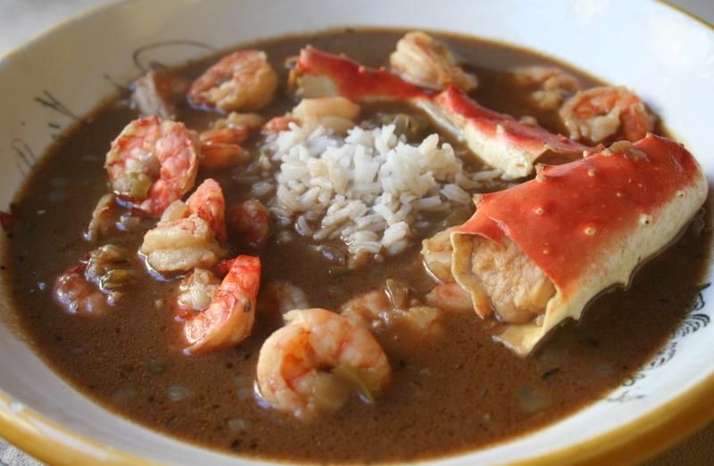 Crazy Creole Cafe Seafood Gumbo Seafood Gumbo Recipe Food