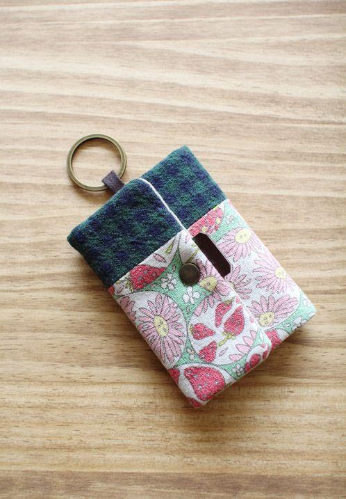 Card Wallet Key Chain Diy Wallet Diy Bags Purses Diy Wallet Pattern