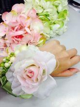 Handmade flower corsage