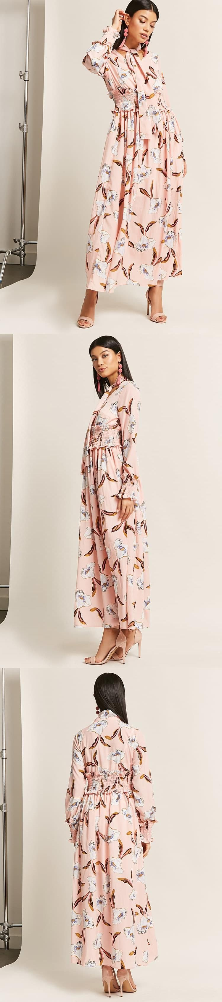 Satin floral maxi dress usd forever new forever