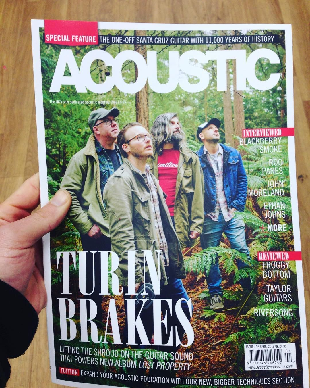 Turin Breaks covers Acoustic Magazine!