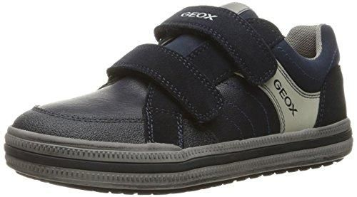 Zapatos negros estilo militar Geox infantiles pgjTe