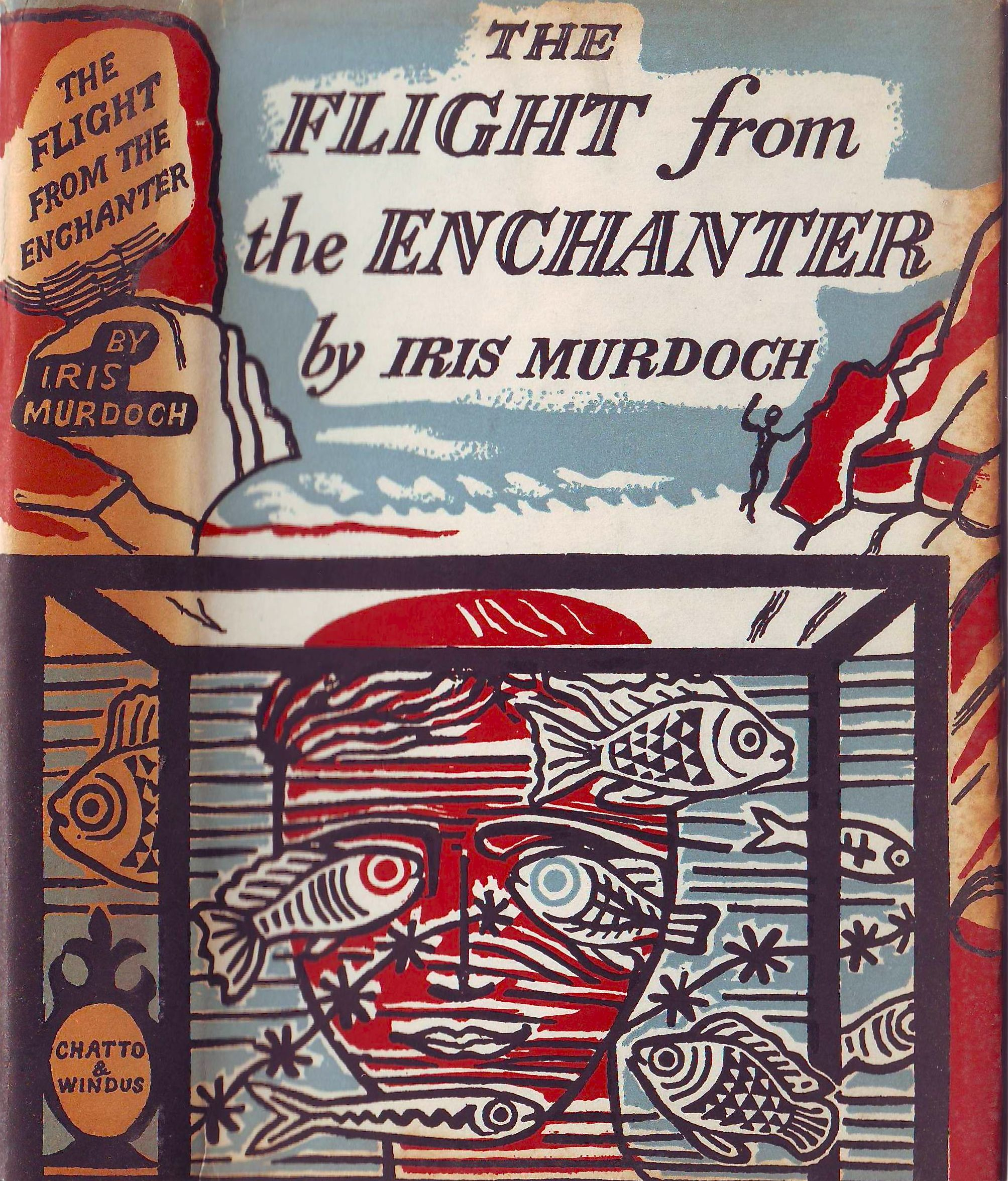 Flight of the Enchanter by Iris Murdoch | Cover by Edward Bawden ...