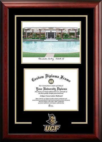 ucf central florida alumni mahogany diploma frame - Michigan State Diploma Frame