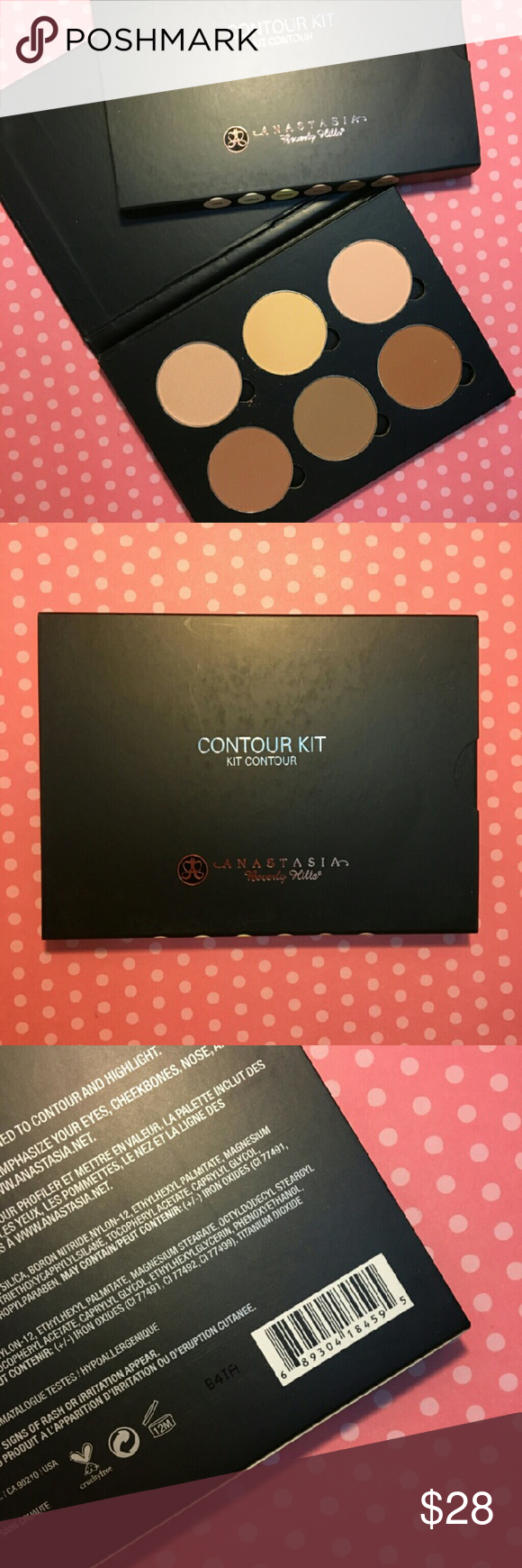 Anastasia Beverly Hills Contour Kit Powder Formula Light to Medium  - New - Authentic / Original - I ship every Monday Wednesday and Friday - You can bundle to save on shipping Anastasia Beverly Hills Makeup Face Powder