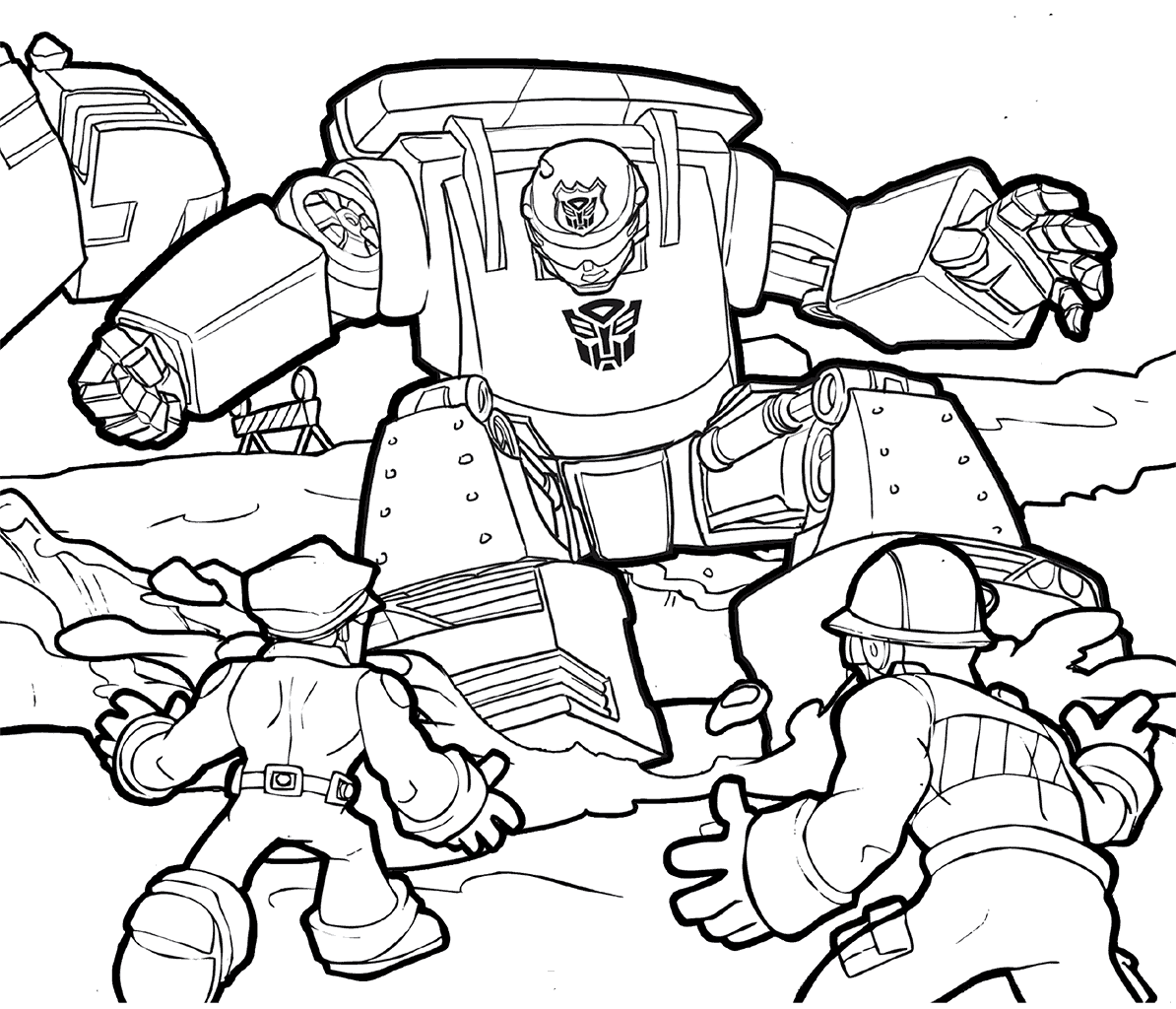 Transformers Rescue Bots Chase Coloring Page Cartoon Coloring Pages Transformers Coloring Pages Coloring Pages