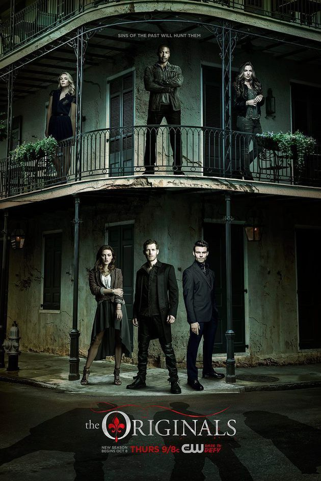 Pôster da 3ª temporada de The Originals: pecados do passado - Minha Série