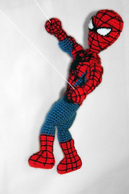 Spiderman Superhero amigurumi pattern by Sahrit | Muñecos en crochet ...