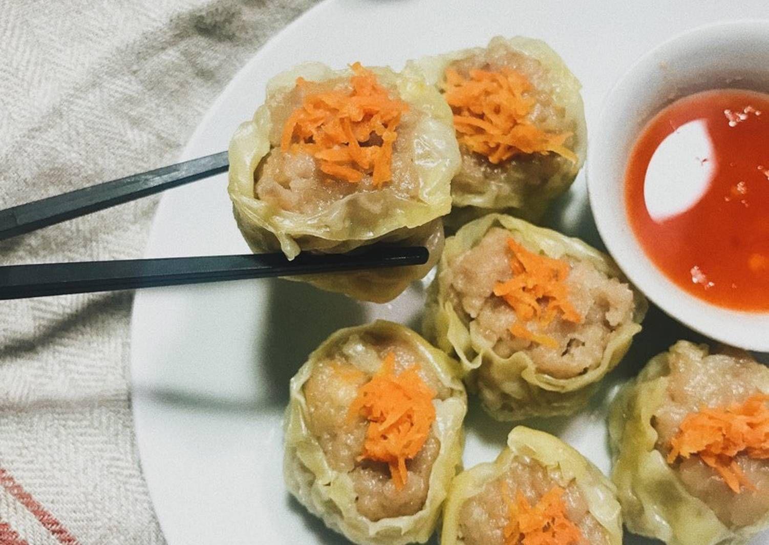 Resep Siomay Babi Udang Oleh Gita Cardila Resep Fotografi Makanan Resep Masakan Indonesia