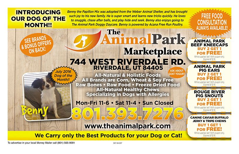 The Animal Park Marketplace Money Mailer Coupons Coupon Deals