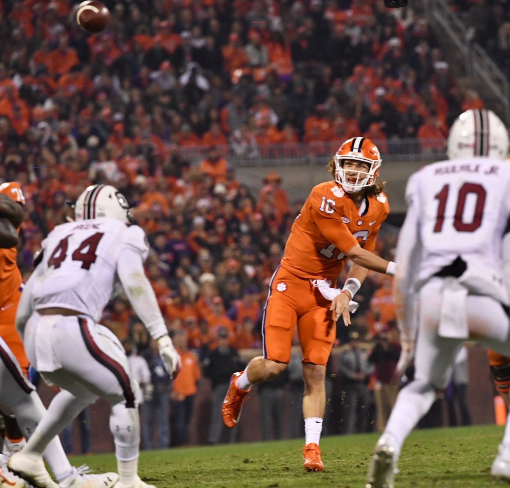 Trevorlawrence In 2020 Clemson Football Football College Football Playoff