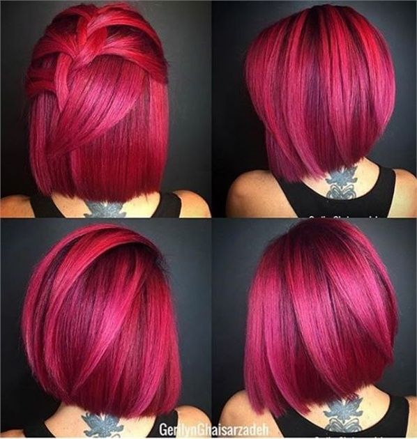 30 Pretty in Pink Hair Colors and Styles We Love