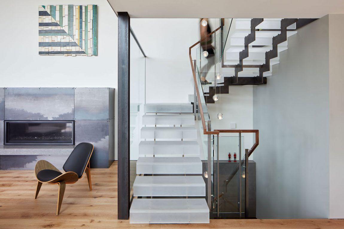 tamalpais ave hillside house by zack de vito escaleras