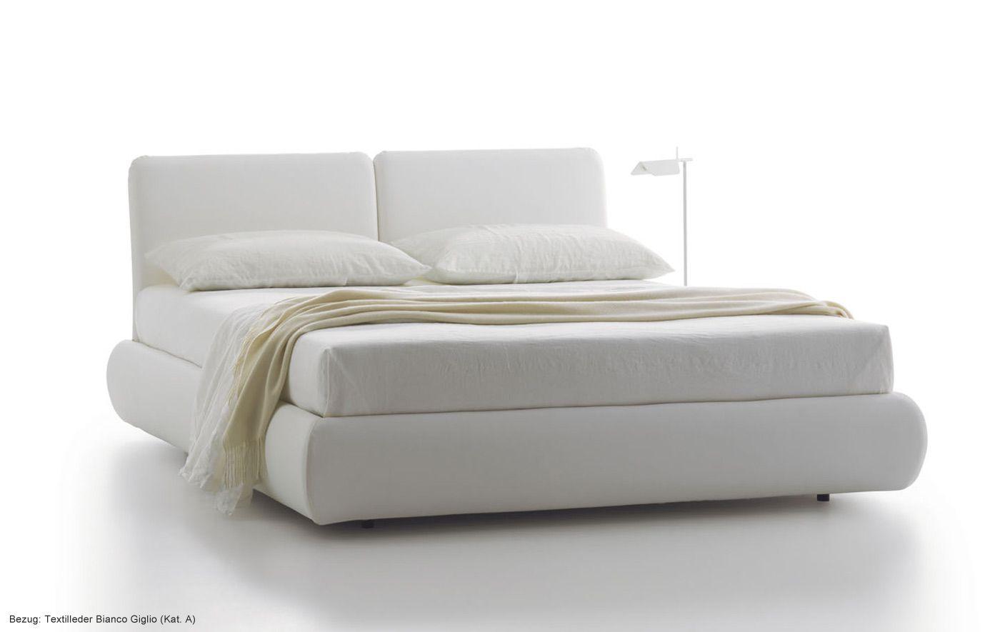 Außergewöhnliches Design! Polsterbett Bambò Leder, Möbel / Schlafzimmermöbel  / Betten // Check Out