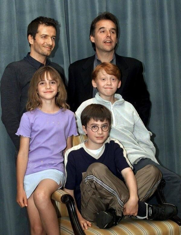 ClassicPics (@History_Pics) tweeted at 4:40 PM on Fri, Feb 28, 2014: Harry Potter cast announced back in 2000