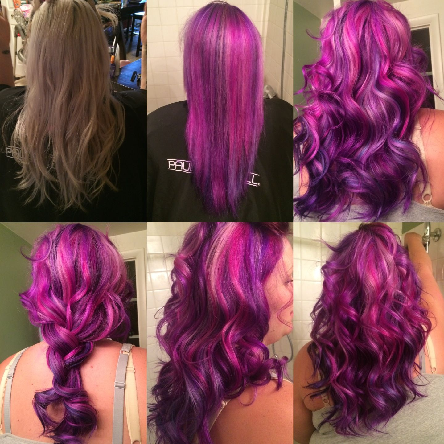 how to use vivids hair color