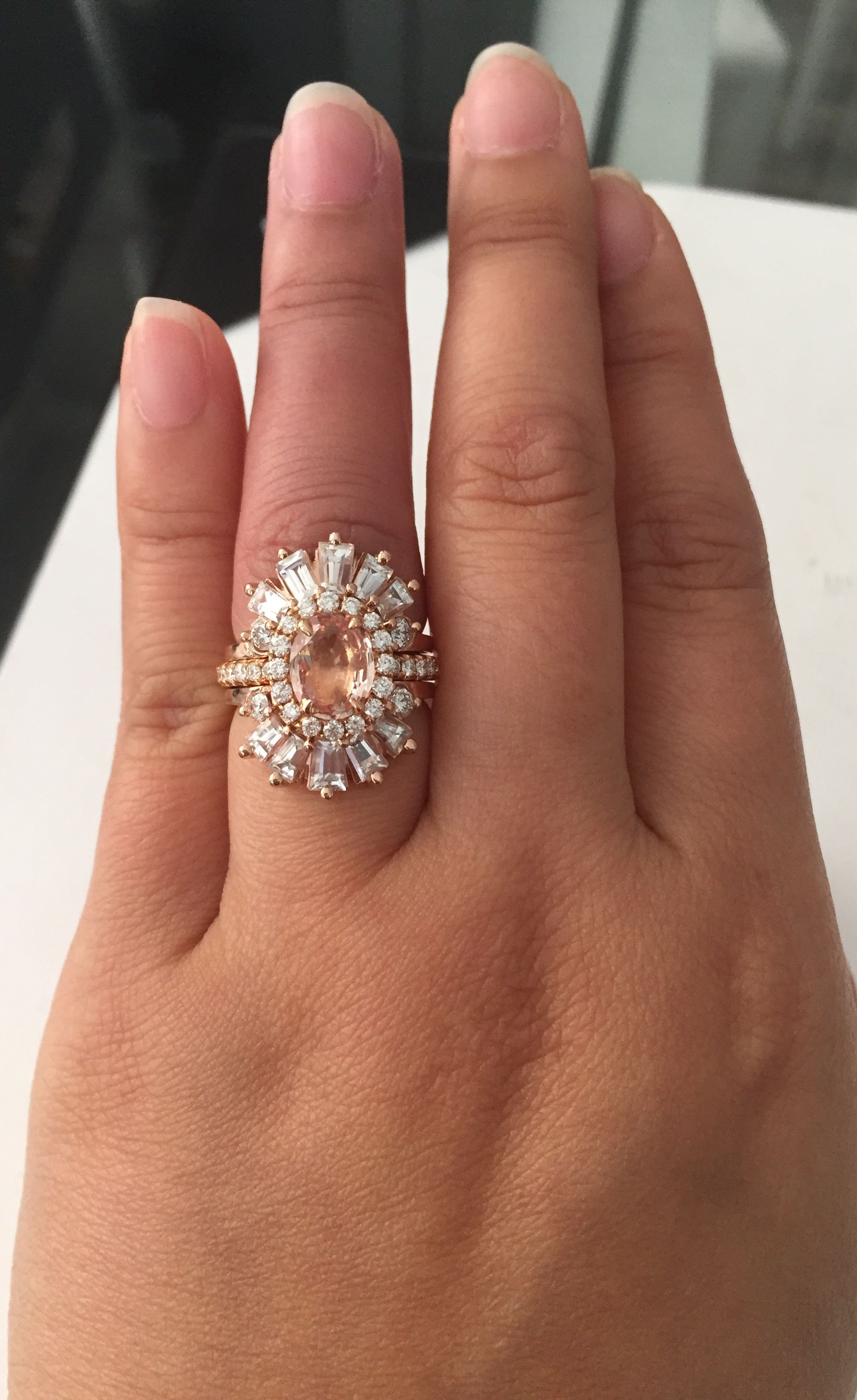 pinterest peach rings on studio sapphire by pin