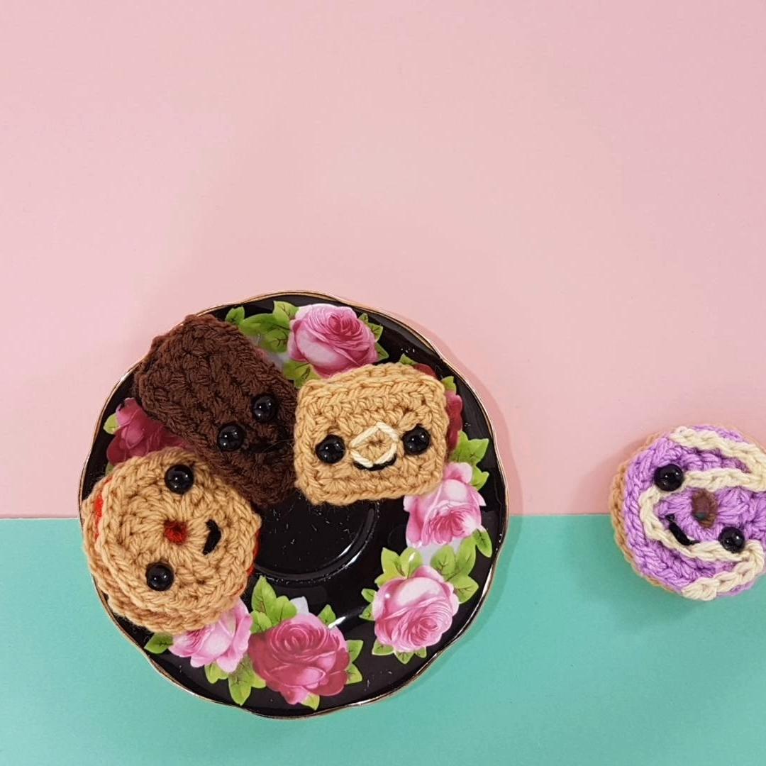 Photo of How to crochet amigurumi cookies