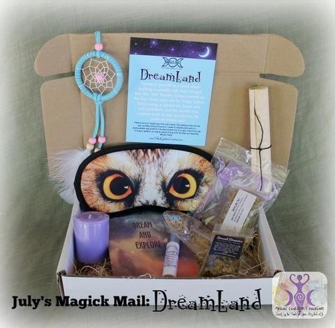 July's Magick Mail Subscription Box- DreamLand