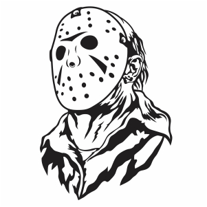 Jason Voorhees Svg File Available For Instant Download Online In The Form Of Jpg Png Svg Cdr Ai In 2020 Halloween Vector Jason Voorhees Art Graphic Tshirt Design