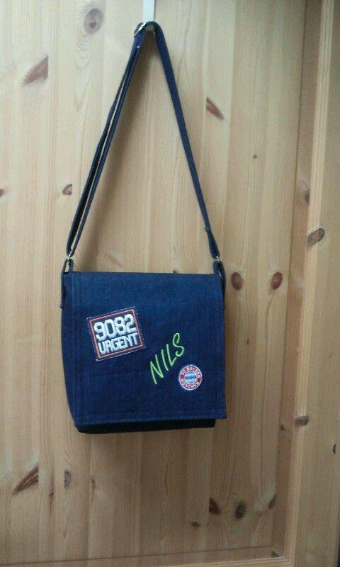 Kindergarten Tasche für Jung\'s | Kindertaschen selber nähen ...
